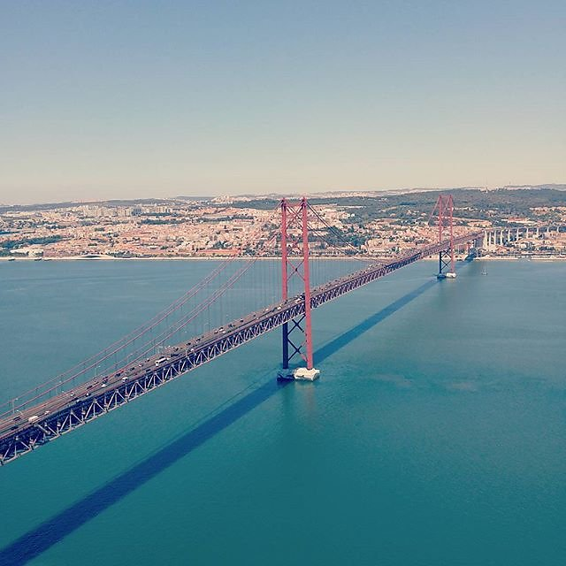 Our journey (nearly) ends where it started a week ago. #Lisbon #Portugal